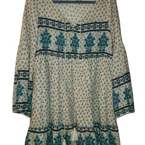 Adorable Boho dress (or long blouse)
